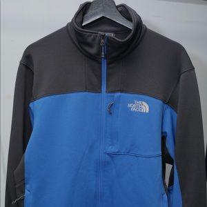 Blue North Face Jacket.